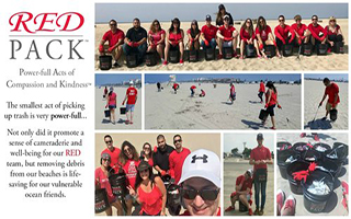 RED PACK™ Beach Clean-up