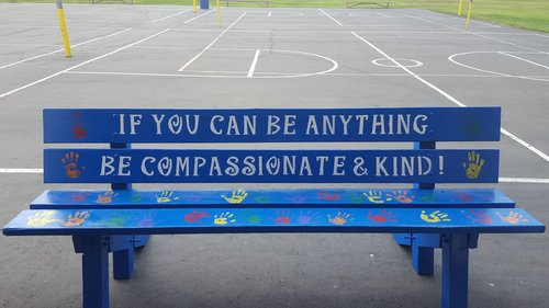 The Buddy Bench – Power-full Acts of Compassion and Kindness™