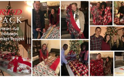 RED PACK™ HEART-FULL HOLIDAYS BLANKET PROJECT